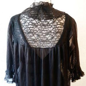 Vintage Intimates & Sleepwear - 2 Piece 1960's Vintage Gown & Robe
